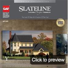 Asphalt shingles slateline brochure