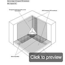 TPO everguard premolded inside corner