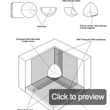 tpo fabricated inside corner
