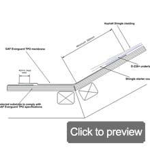 TPO everguard shingle roof